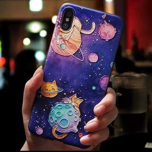 LAST ONE! iPhone XS Max Space Cat Case